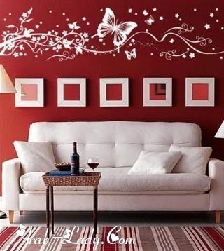 أبدعي في تزيين حوائط منزلك بالملصقات الجدارية