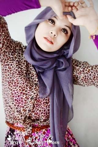 تعلمي بالصور طرق لف الحجاب بأشكال متعدده