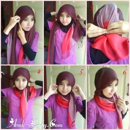 طرق لف الحجاب بأشكال متعدده 1360244491.jpg