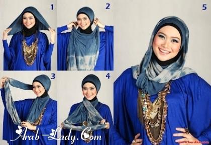 طرق لف الحجاب بأشكال متعدده 1360245122.jpg