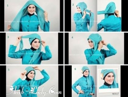 طرق لف الحجاب بأشكال متعدده 1360245238.jpg