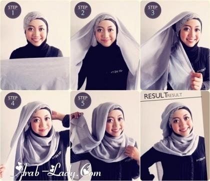 طرق لف الحجاب بأشكال متعدده 1360245287.jpg