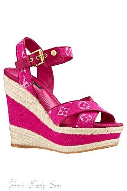 تشكيلة جديدة من أحذية لويس فويتون بألوان مبهجة