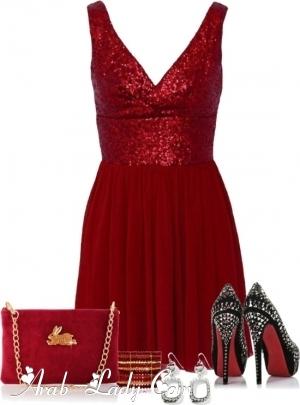 كولكشن رائع ومميز لفساتين تفيض بالرقه والأنوثه