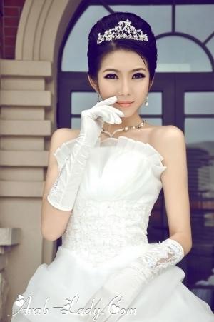 فساتين زفاف مميزه تناسب متوسطات وقصيرات القامه