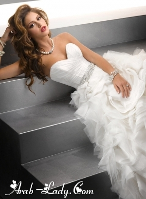 فساتين زفاف لعروس يملؤها التمييز والرقي