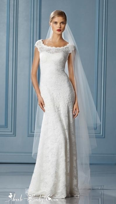 آخر موديلات فساتين الزفاف العصرية