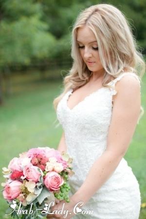 فساتين زفاف بتصاميم بسيطه لعروس ربيع وصيف 2013