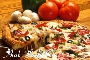 وصفات بيتزا متعددة من أشهر مطاعم العالم