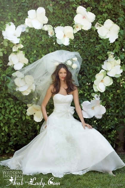 فساتين الزفاف حيث الرقة و الاناقة فى ليلة العمر