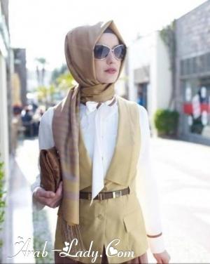 ملابس المحجبات طلة انوثية جذابة