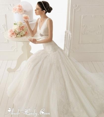 احدث فساتين اسبانية للعروس