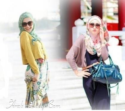 تشكيلة رائعة لأزياء محجبات ربيع صيف 2013