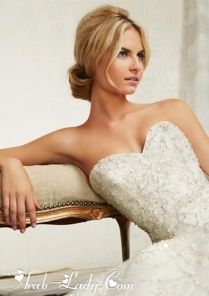 فساتين زفاف لربيع وصيف 2013 من Angelina Faccenda