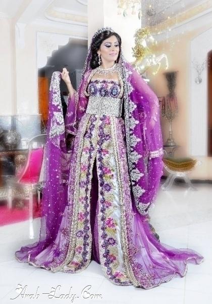 تشكيلة من أروع ملابس العروس بالمغرب
