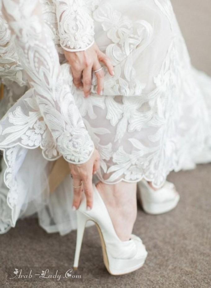 1091ec734 إليكِ بهذا الألبوم أجمل تصاميم الأحذية بـ الكعب العالي للمرأة القصيرة القامة،  أيّ تصميم نال إعجابكِ أكثر.