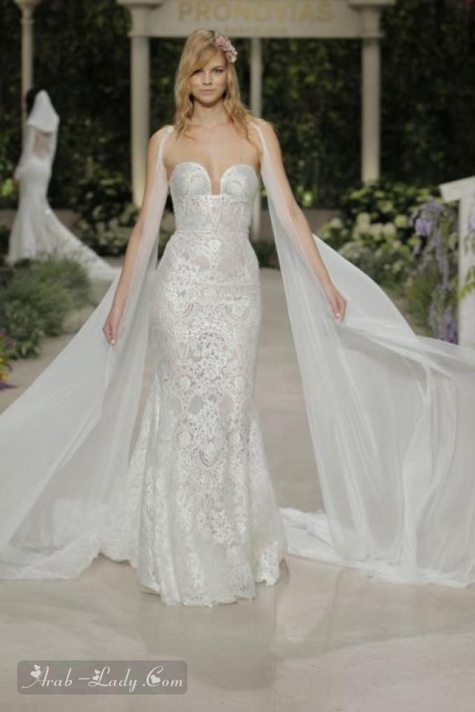 ba807ad866685 شاهدي أجمل فساتين زفاف بأكمام طويلة جداً لتختاري منها تصميم يناسبك ويجعل  إطلالتك استثنائية في يومك الكبير.